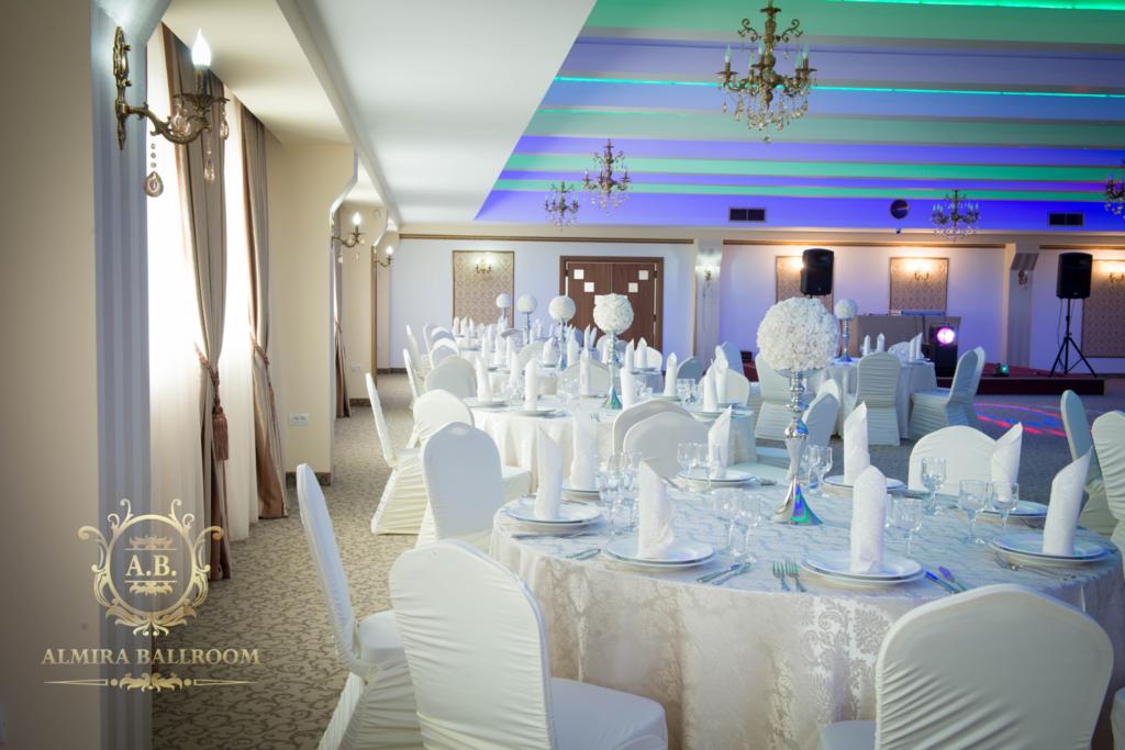 imagini din sala de nunta Almira Ballroom
